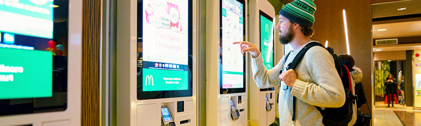 Kiosk Ordering: Gimmick or trend?