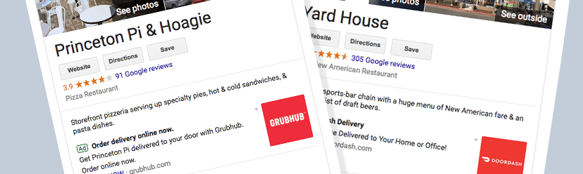 Is Google Driving up Your GrubHub and DoorDash Fees?