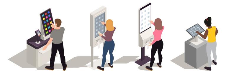 Kiosks: Short-Staffed restaurants turn to self-serve technology